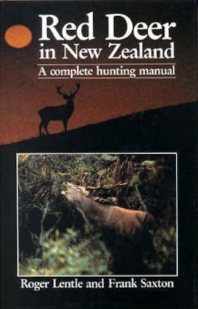 Cover Page, Red Deer in New Zealand by Roger Lentle and Frank Saxton-2